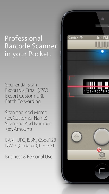Barcode Scanner for Business - mobiscan