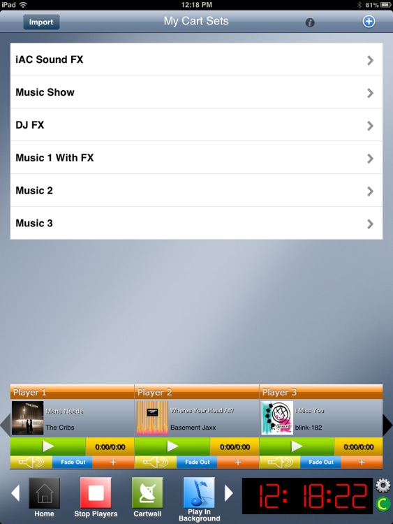 Instant Audio Cartwall Soundboard PRO for iPad screenshot-2