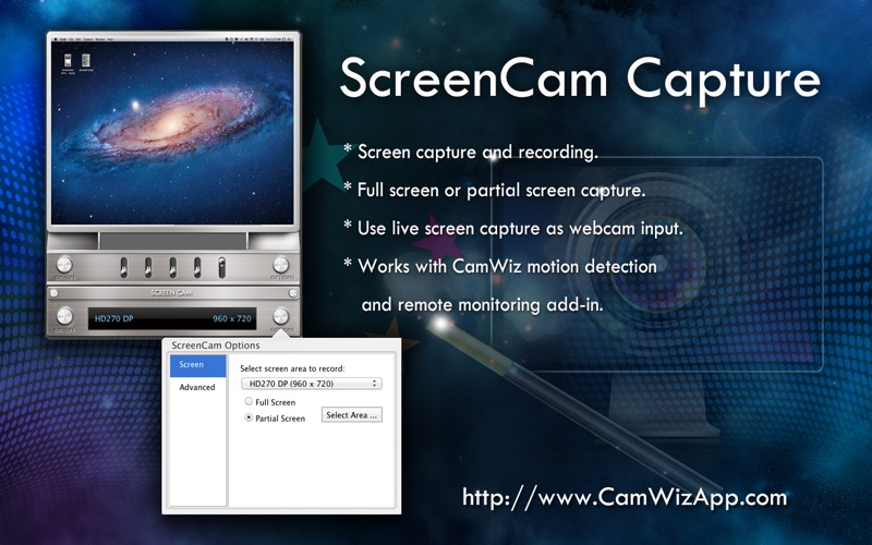 CamWiz Webcam Pro Screenshot