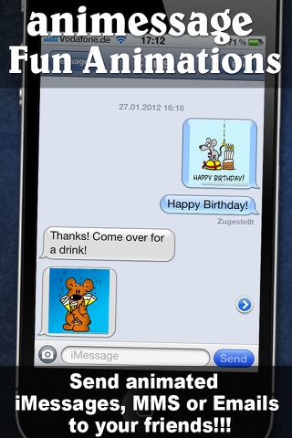 Greeting Cards and Emoticons for iMessage, MMS and Email app image