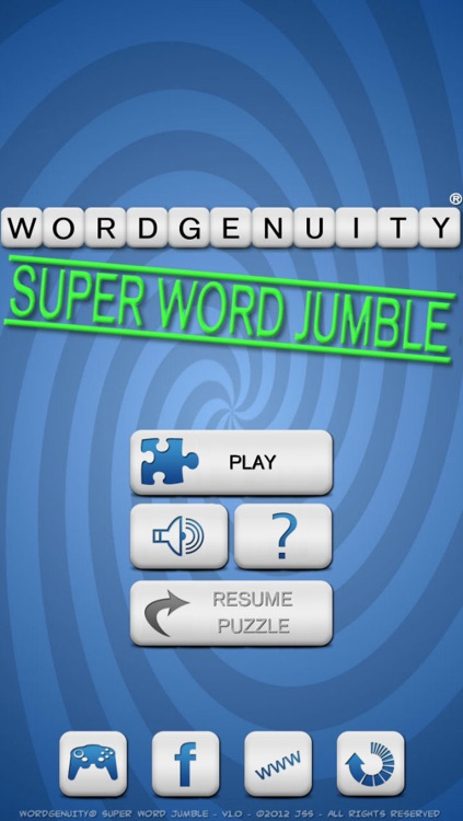 Wordgenuity Super Word Jumble
