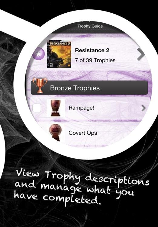 PS3 Trophy Guide screenshot-4