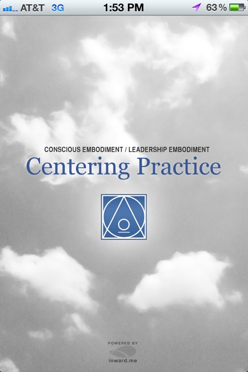 Centering Practice - Leadership Embodiment
