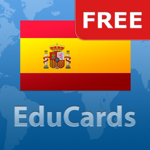 EduCards Spanish 1000 Most Frequently Used Words Free