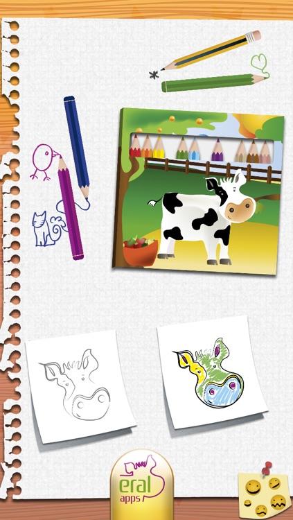 Draw and Colour: The Farm LITE screenshot-4
