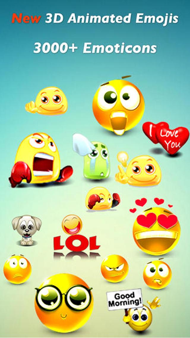 3D animierte Emojis - Deutsche SMS,MMS,WhatsApp Smileys
