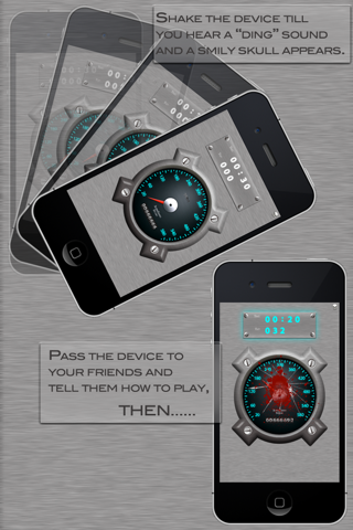 Tap To Crack - TapMeter Lite Screenshot