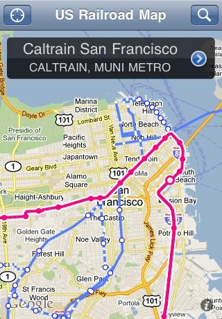 US Railroad Map-2