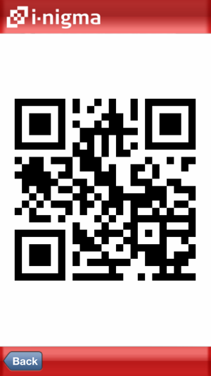 i-nigma QR Code, Data Matrix and 1D barcode reader on the