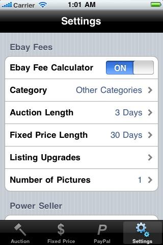 eBay & PayPal Fee Calculator screenshot-4