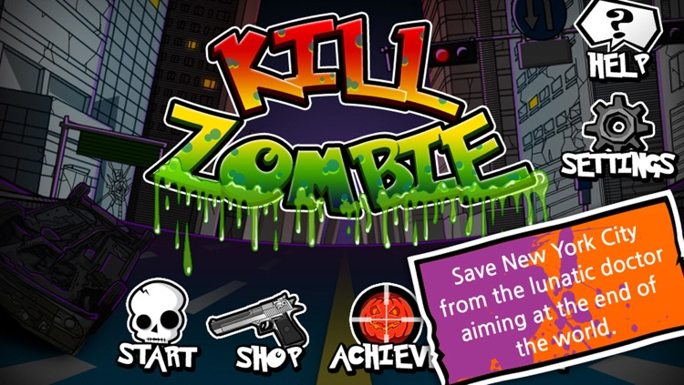 Kill Zombie(The start of the war) screenshot-4