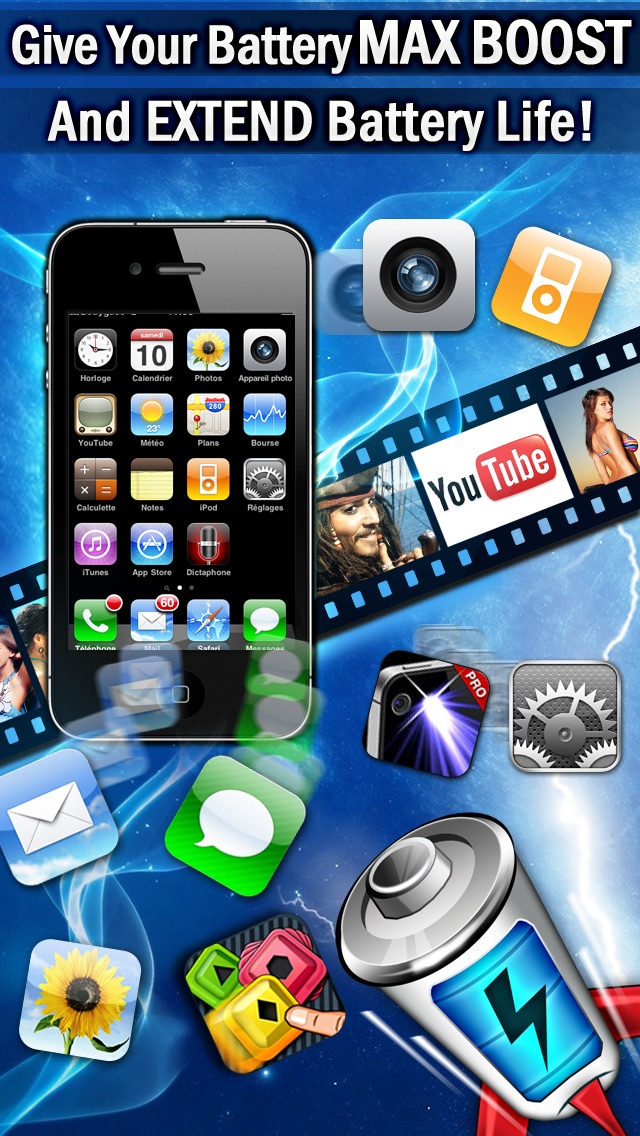 Top 10 Apps like iBattery Pro - Battery status and maintenance in