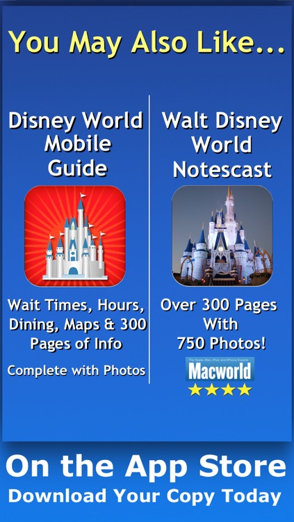 Walt Disney World Tips, Hints & Phone Numbers screenshot-4