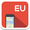 Europe offline map, guide, weather, hotels. Free navigation.