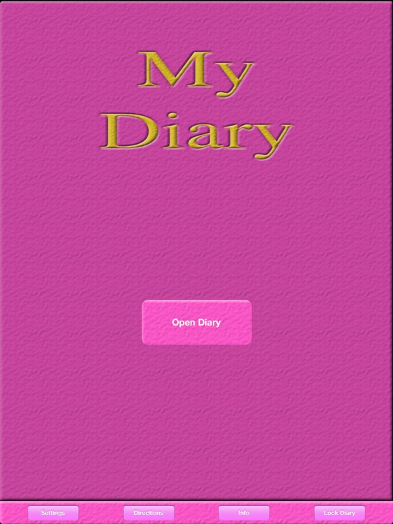 My Private Diary
