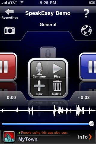 SpeakEasy Voice Recorder Lite