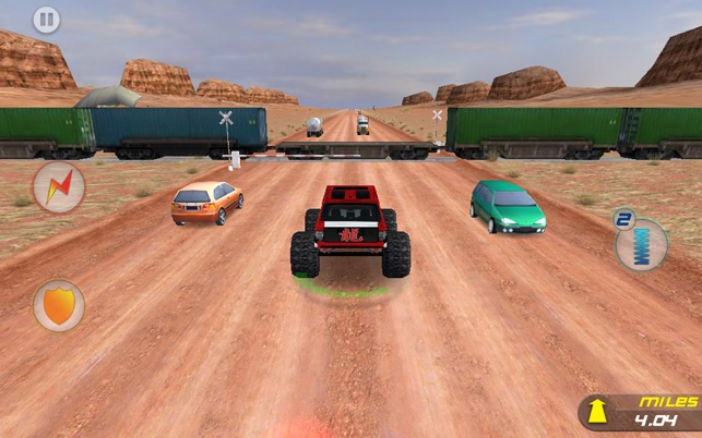 ‎Crazy Monster Truck Escape Screenshot