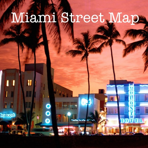 Miami FL Offline Street Map & Address Finder