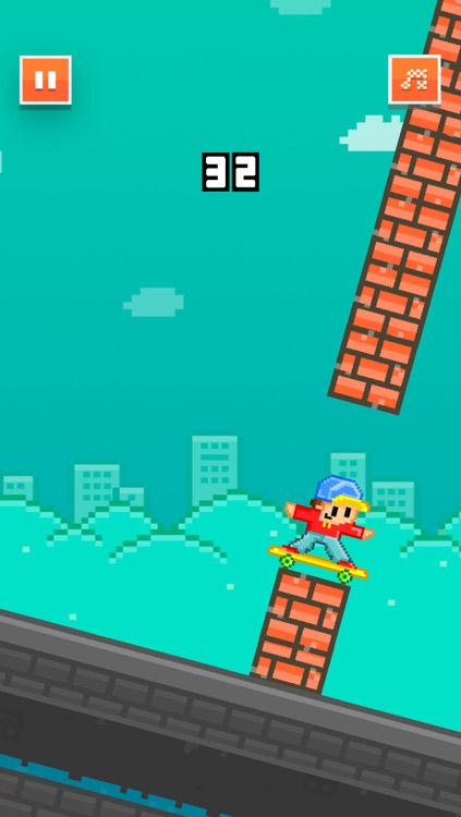 Skateboard Heroes - Play Pixel 8-bit Games for Free screenshot-2