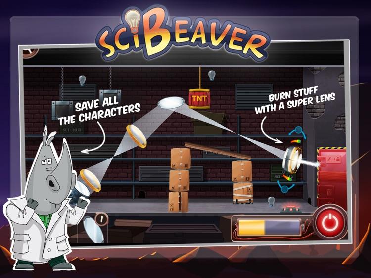 SciBeaver Adventures HD screenshot-3