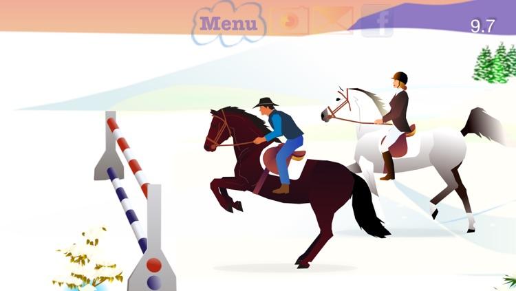 Jumpy Horse