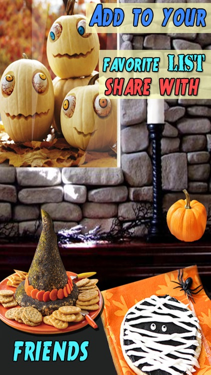 Halloween Decorating Ideas for iPhone5/iPhone4S/iPad screenshot-3