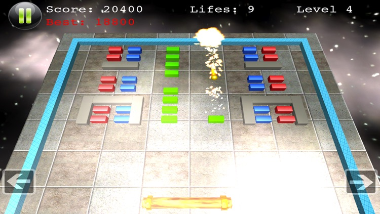 Block Smasher - Top Board Action Arcade Fun Brick Breaker 3D Breakout Free Game screenshot-3