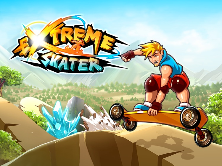 Extreme Skater HD screenshot-0