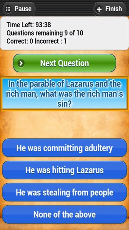 Bible Trivia Quiz - No Ads - Free Bible Study - Bible Challenge Game, Bible Christian Quizzer Puzzle