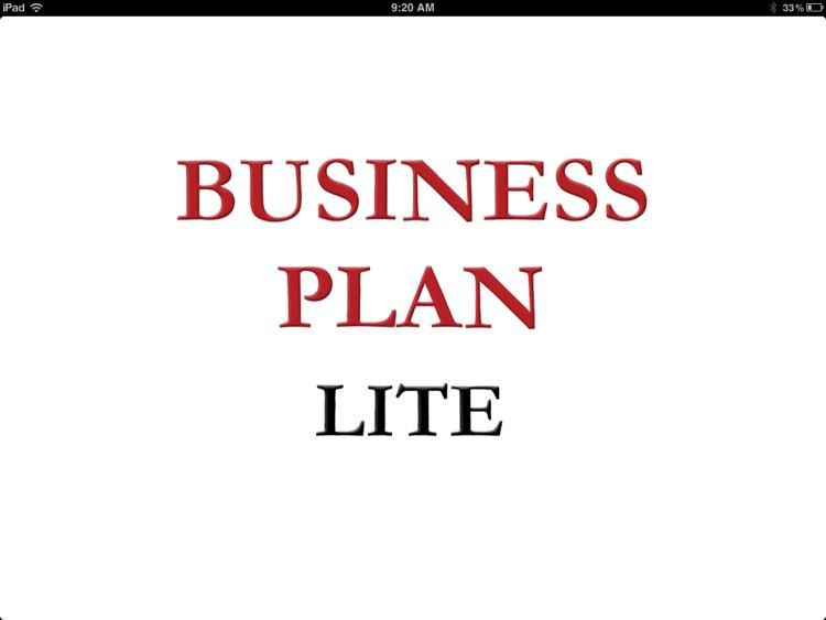 Business Plan - Lite screenshot-4