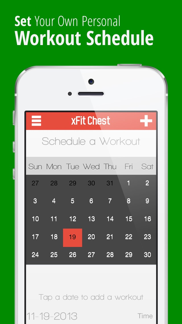 xFit Chest – Daily Workout for Perfect Lean Sculpted Pecs screenshot four