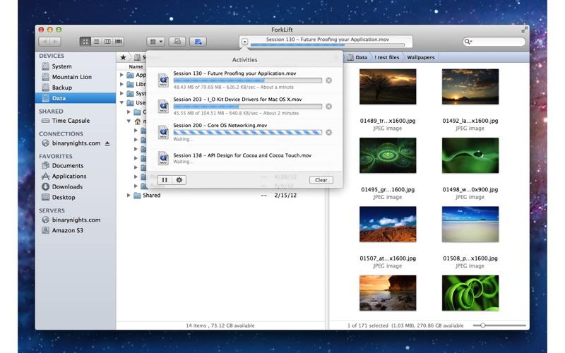ForkLift Screenshot