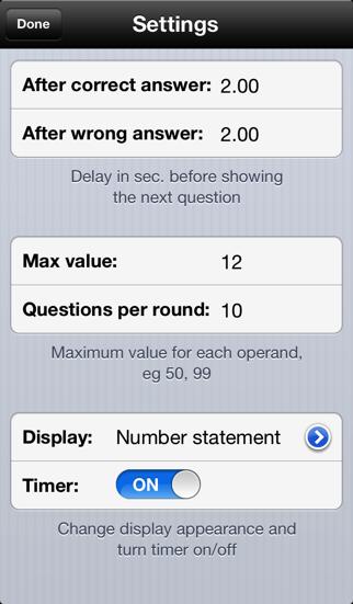 Basic Math screenshot two
