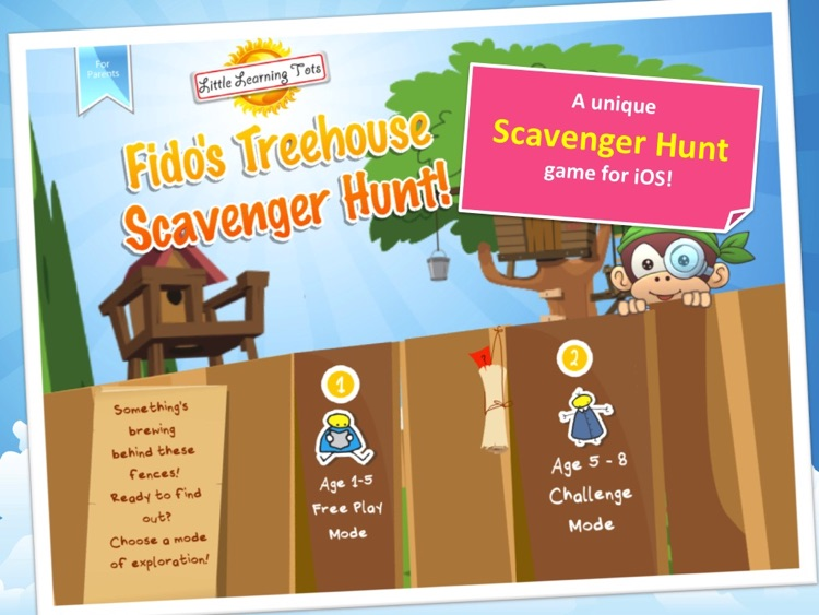Fido's Treehouse Scavenger Hunt screenshot-0