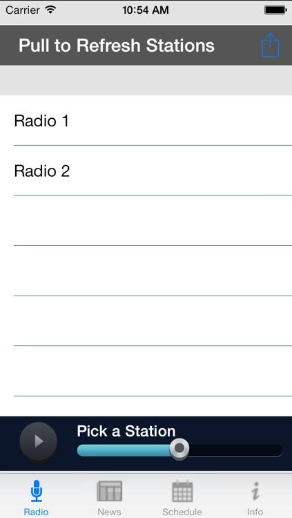 Radio for Chicago Bears