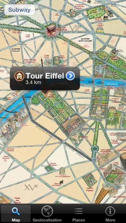 Discover Paris - maps, metro & monuments