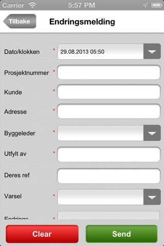 Screenshot of BSB HSEQ
