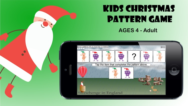Kids Christmas Pattern Game by Corvid Apps