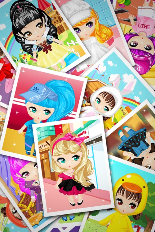 Dress Up - Dolls Salon screenshot-4