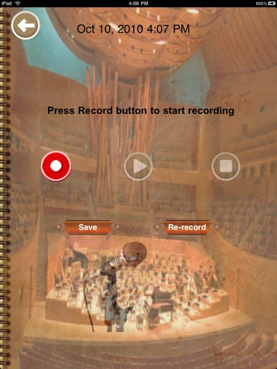 Diary Journal Pro HD- Personalize & secure the video voice record text photo mood event place. Best daily planner app for iPad screenshot-4