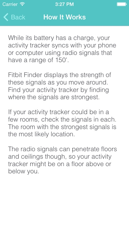 Fitbit Finder: lost Fitbits found quickly