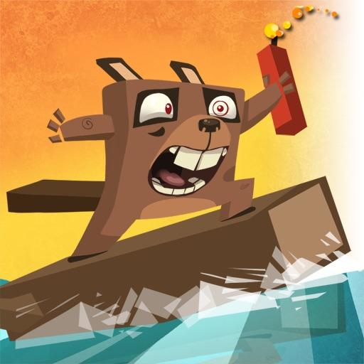 Surfing Beaver