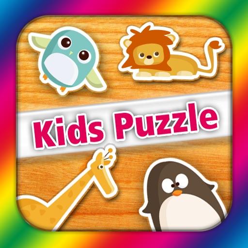 Kids Puzzle (Wooden Animals)