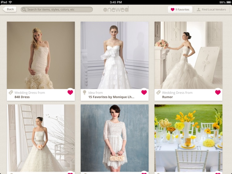 Wedding Inspiration and Planner from OneWed screenshot-4