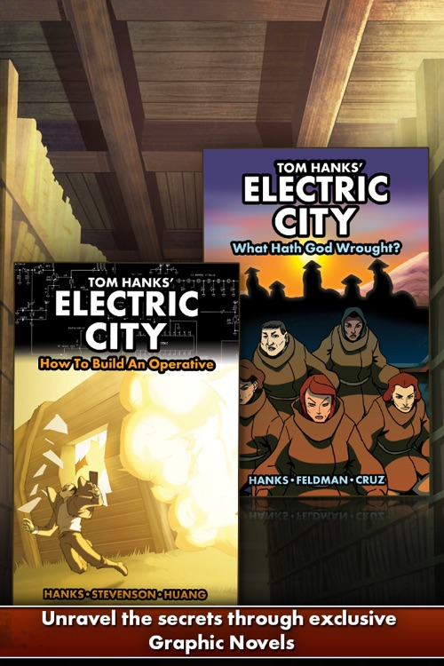 "Tom Hanks' ""Electric City"""