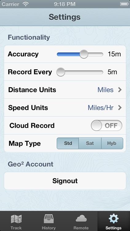 Geo Tracker: GPS Tracking screenshot-3