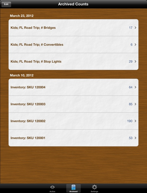 Counts Free for iPad: Count Anything screenshot-3
