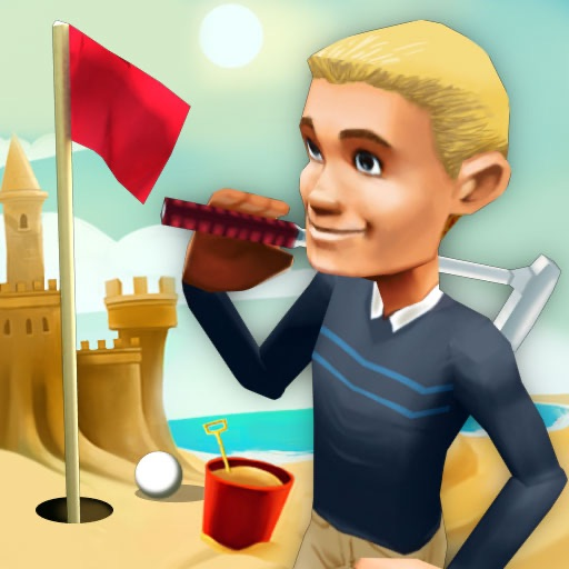 3D Beach Mini Golf HD icon