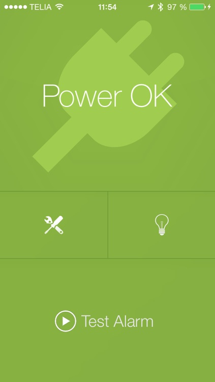 PowerAid - Power failure alarm
