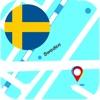 スウェーデン オフライン地図